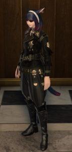 アルケオーニス・ギャザラージャックコートで第三帝国将校のコスプレ~新生FF14詩人ミラプリ4