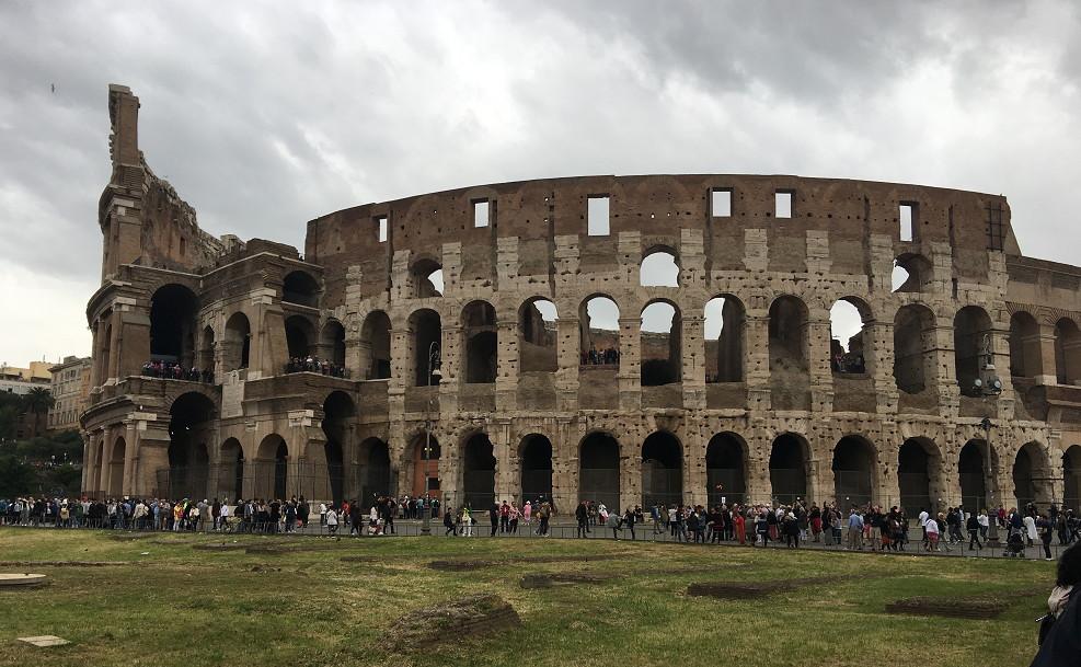 ローマ・コロッセオ外観