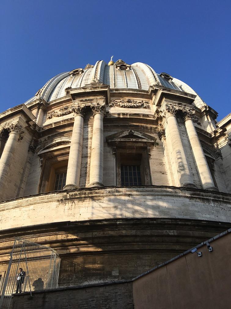 バチカン・サンピエトロ寺院キューポラ