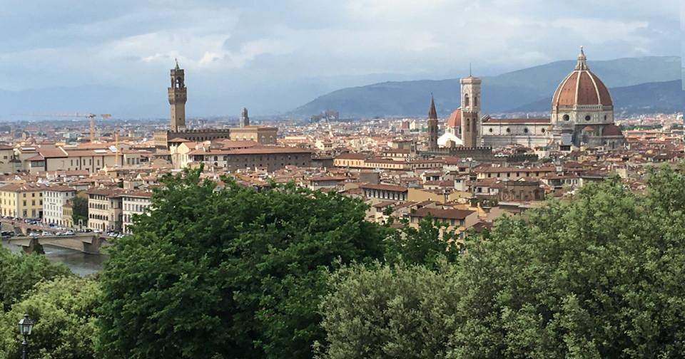 アイキャッチ・イタリア旅行記(2018)~⑤フィレンツェ観光編・ガンスリンガーガールの聖地を巡る
