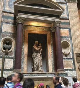 ローマ・ラファエロの墓