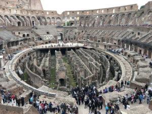 ローマ・コロッセオ内観