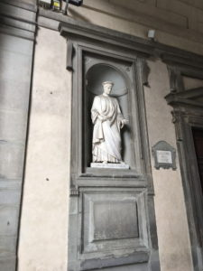 フィレンツェ・ウフィツィ美術館1
