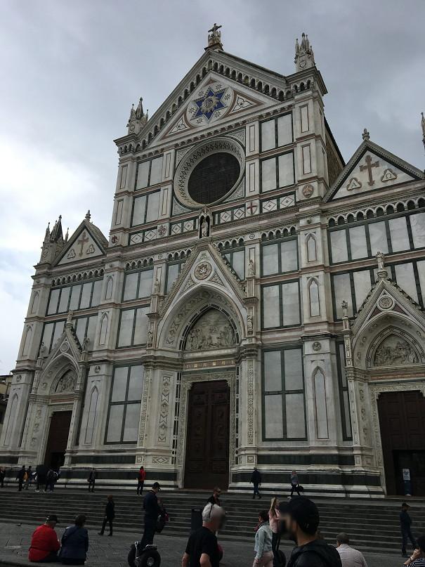 フィレンツェ・サンタ・クローチェ聖堂