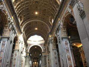 バチカン市国・サンピエトロ大聖堂1