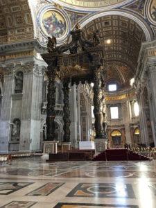 バチカン市国・サンピエトロ大聖堂2