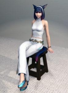 プリンセスコスチュームセットの足装備が待望のちゃんとしたハイヒール!~新生FF14ミラプリ5
