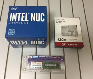 IntelのNUC6CAYHにCentOS7をインストールしてみた~ハマりどころアリ1