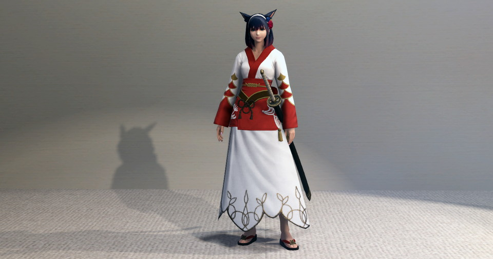 アイキャッチ・プリンセス・ロングスカートと紅染姫君浴衣でファッション侍のミラプリ