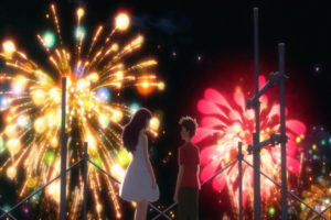 「打ち上げ花火、下から見るか?横から見るか?」4