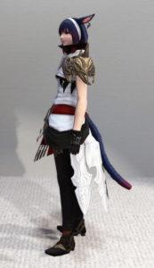 エレメンタル・レンジャージャケットが意外にオサレ弓道着で可愛い~新生FF14詩人ミラプリ・左