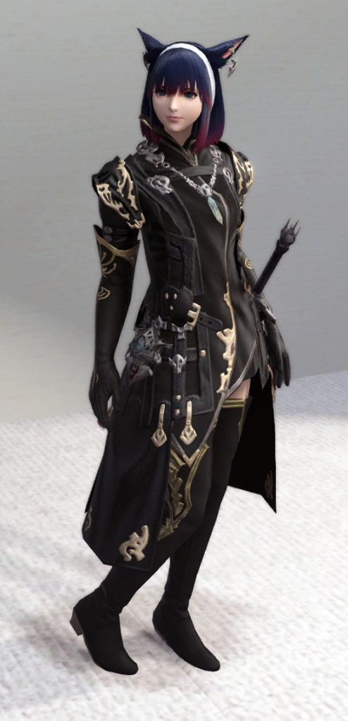 レプリカ・アラガンキャスターチュニックとプリンセスドレスグローブで悪の帝国魔術師風ミラプリ2