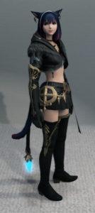 使いづらいナタ姫君闘着を使ってみる、あえてね~新生FF14ジョブ不問ミラプリ・右