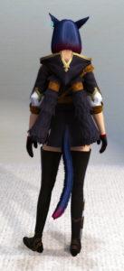 うなじ丸見えのスプリガンジャケットがエロ可愛い~新生FF14エッグハント2019・背面