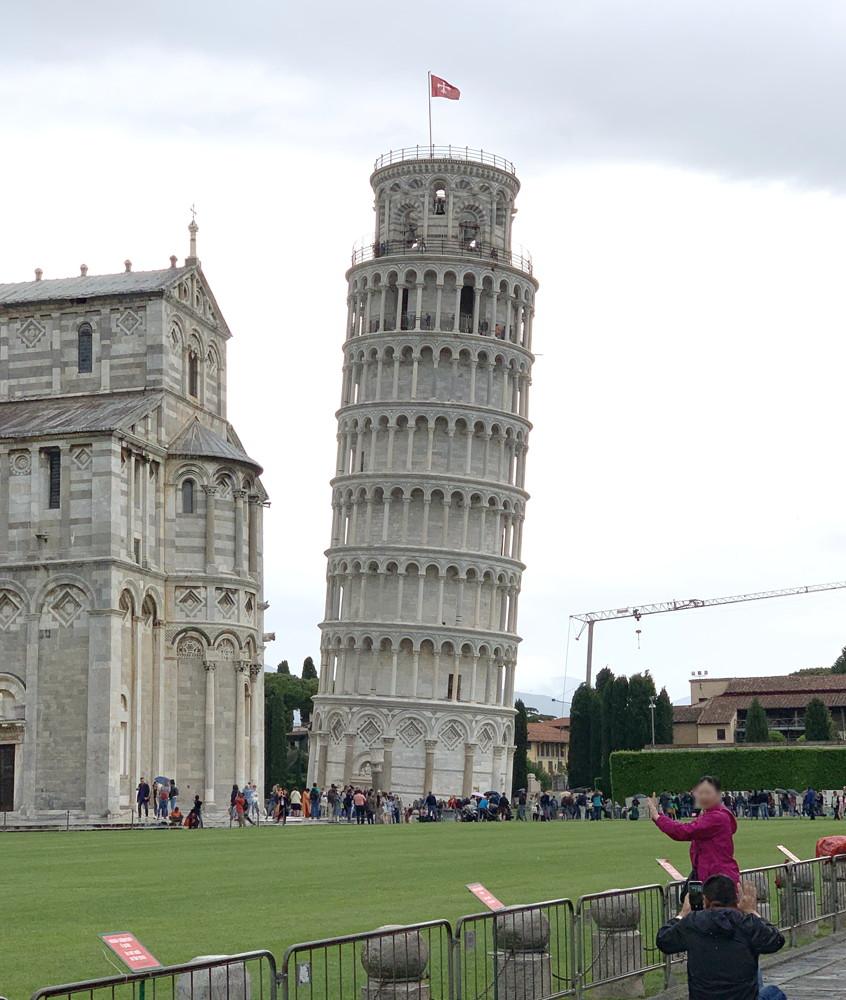 イタリア旅行記(2019)~③フィレンツェからピサの斜塔を上りに行く1