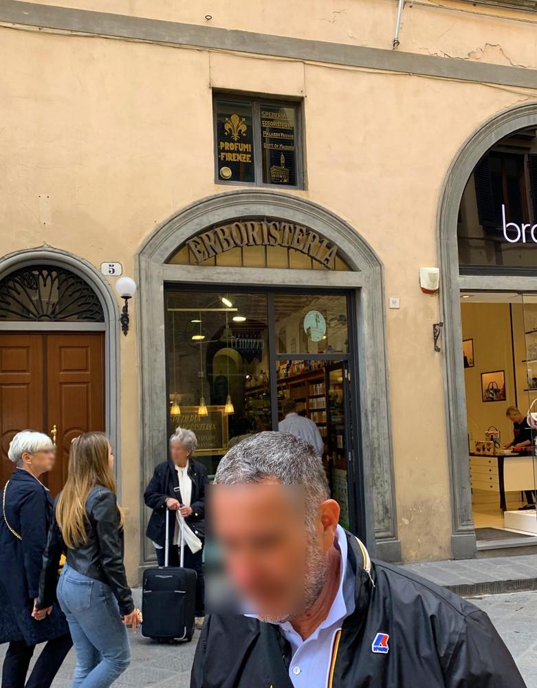 イタリア旅行記(2019)~④フィレンツェのサンタ・マリア・ノヴェッラ薬局でオリーブ石鹸を買う5