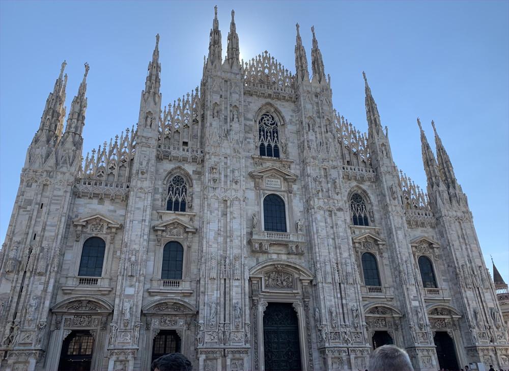 イタリア旅行記(2019)~⑤ミラノ観光編・ドゥオモとダヴィンチの最後の晩餐1