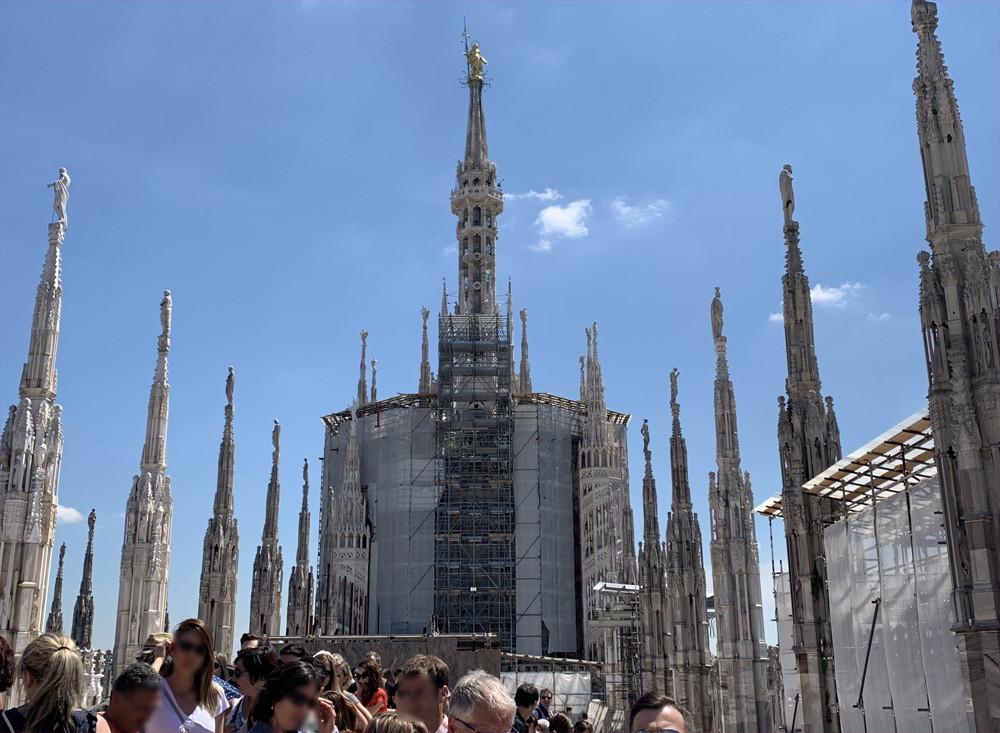 イタリア旅行記(2019)~⑤ミラノ観光編・ドゥオモとダヴィンチの最後の晩餐12