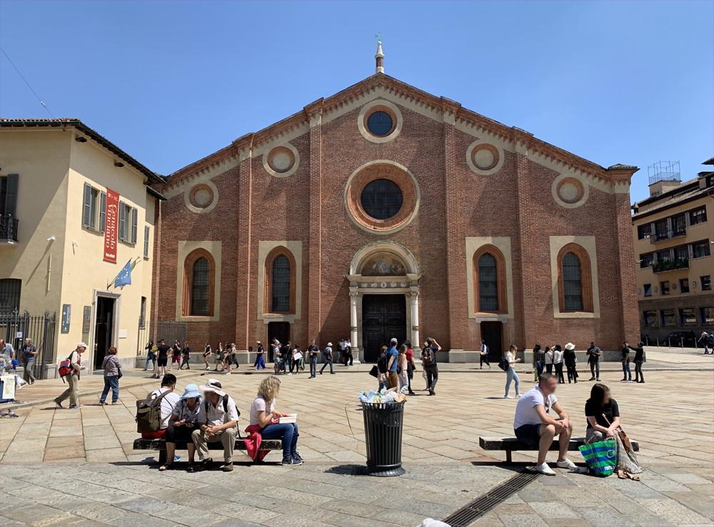 イタリア旅行記(2019)~⑤ミラノ観光編・ドゥオモとダヴィンチの最後の晩餐17
