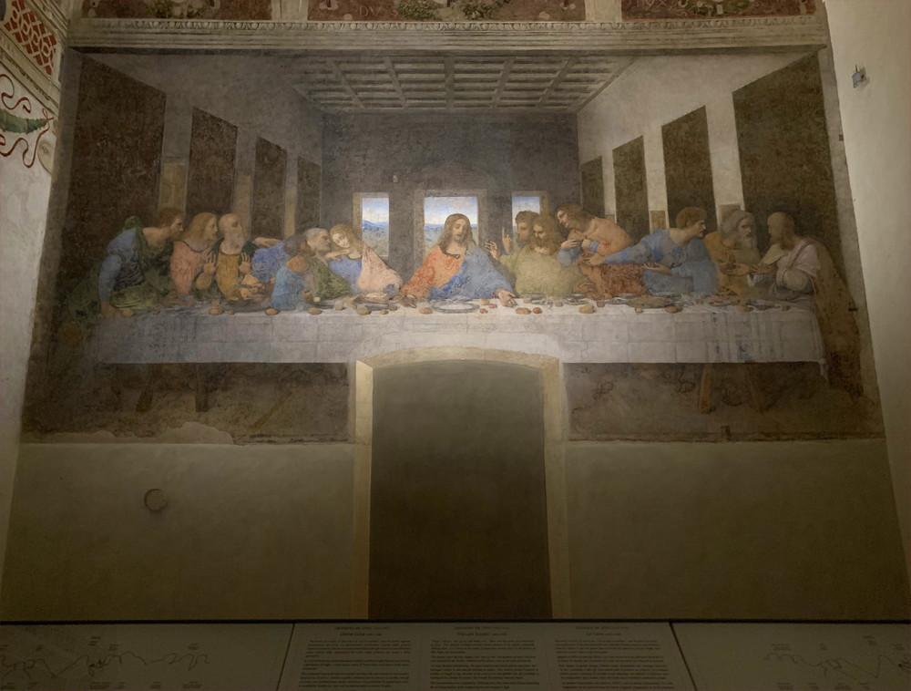 イタリア旅行記(2019)~⑤ミラノ観光編・ドゥオモとダヴィンチの最後の晩餐18