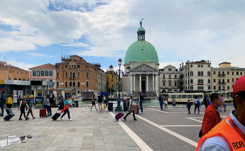 イタリア旅行記(2019)~①ベネチア観光編「ガンスリンガーガール」の聖地巡礼1