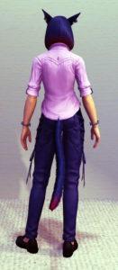 【朗報】サマーインディゴシャツに謎の豊胸効果は無し!シンデレラバストはそのままに~新生FF14漆黒のヴィランズ4