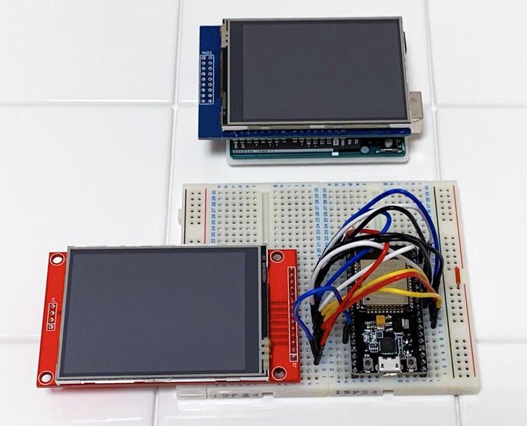 ESP32とLCDシールドの組み合わせでLogicool G13が無くてもフルスクリーンのFF14でDPSを見れるようにしてみた1