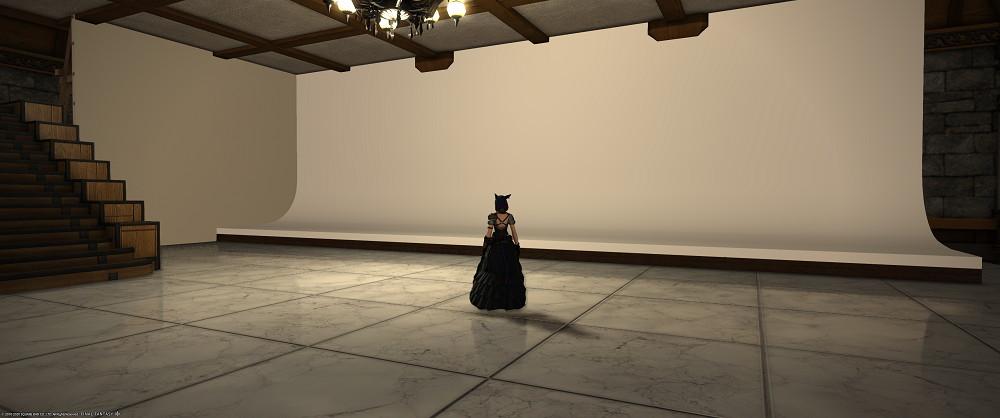 パッチ5.2でグループポーズに神アプデが入ったので、撮影スタジオを作り直しました8