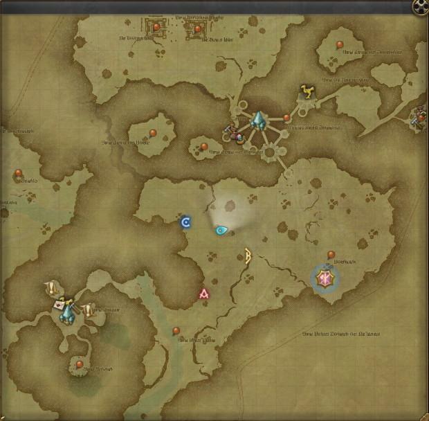 古ぼけた地図G11の正確な採集・採掘場所はこちら~デイリーガチャでがんばらない金策2