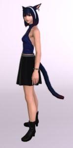 パッチ5.3で追加されたシンプルなフレアミニスカート「サザンシースカート」が使いやすくてイイ感じ11