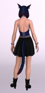 パッチ5.3で追加されたシンプルなフレアミニスカート「サザンシースカート」が使いやすくてイイ感じ12