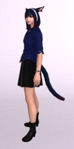 パッチ5.3で追加されたシンプルなフレアミニスカート「サザンシースカート」が使いやすくてイイ感じ15
