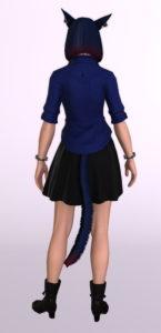 パッチ5.3で追加されたシンプルなフレアミニスカート「サザンシースカート」が使いやすくてイイ感じ16