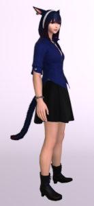 パッチ5.3で追加されたシンプルなフレアミニスカート「サザンシースカート」が使いやすくてイイ感じ17