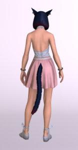 パッチ5.3で追加されたシンプルなフレアミニスカート「サザンシースカート」が使いやすくてイイ感じ4