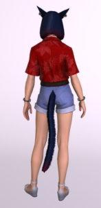 アロハ風半袖シャツの「サザンシーシャツ」を使ったミラプリはやっぱり難しい背面