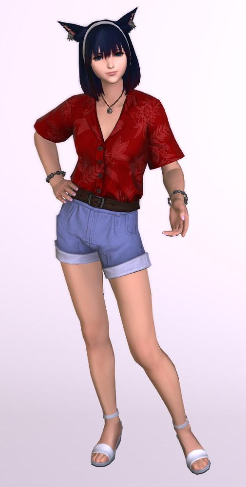 アロハ風半袖シャツの「サザンシーシャツ」を使ったミラプリはやっぱり難しい1