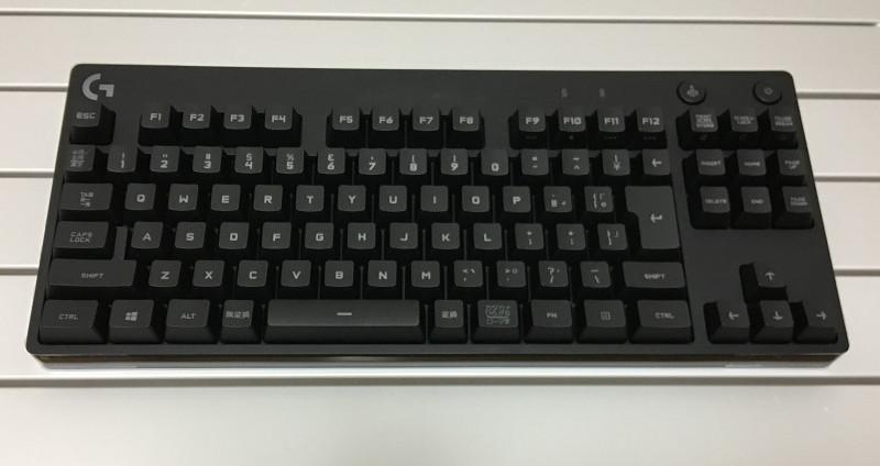 Logicool G PRO Xキーボードが在庫なし~またこっそり生産中止か?!ECTK-G01UKBKに替えたのでレビューしてみる1
