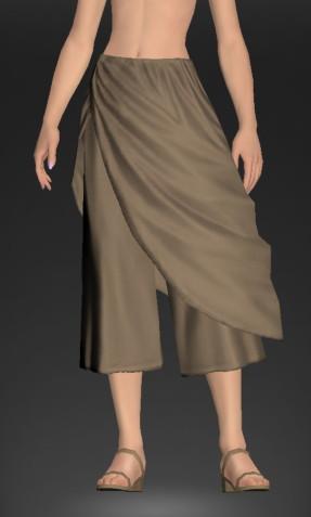 古代ローマ人風ダルマスカン・ドレープパンツにアドベンチャラー・セーターを合わせて秋冬向けコーデにしてみる1