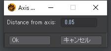 自作Lightwave用スクリプト:AxisAlign~背景の直線を軸にして前景の頂点を筒状に並べる2