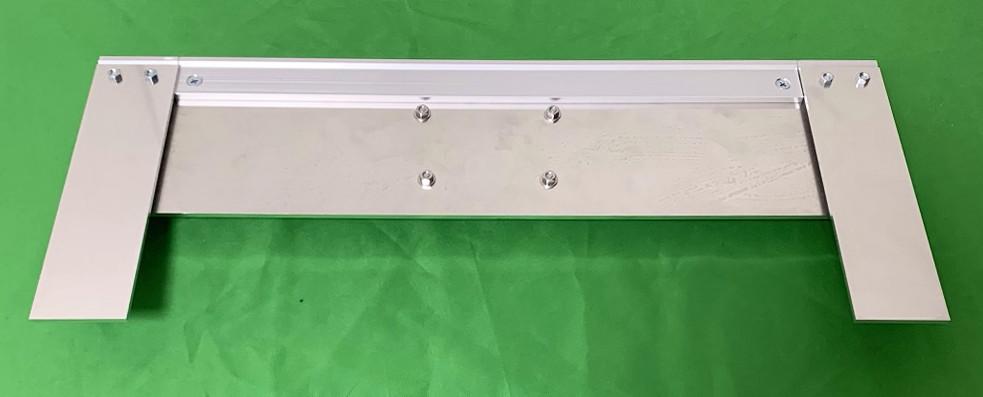 アルミフレームとスライドレールでキーボードと共存するタブレット台を作ってみた28